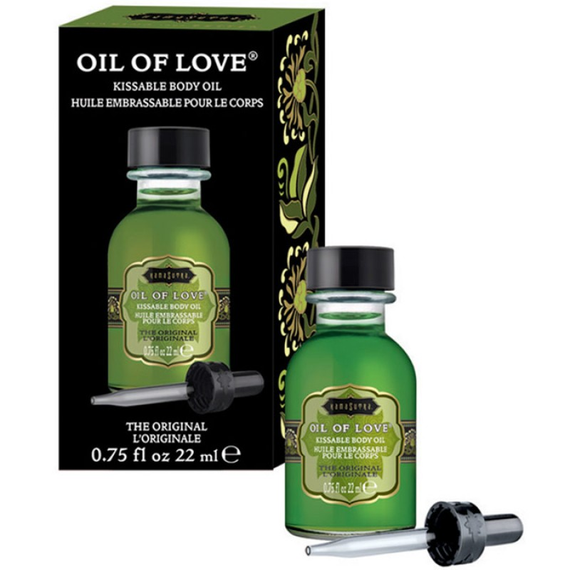 Kama Sutra Oil Of Love  Warming Kissable Massage Oil - The Original 0.75 oz (22 ml)