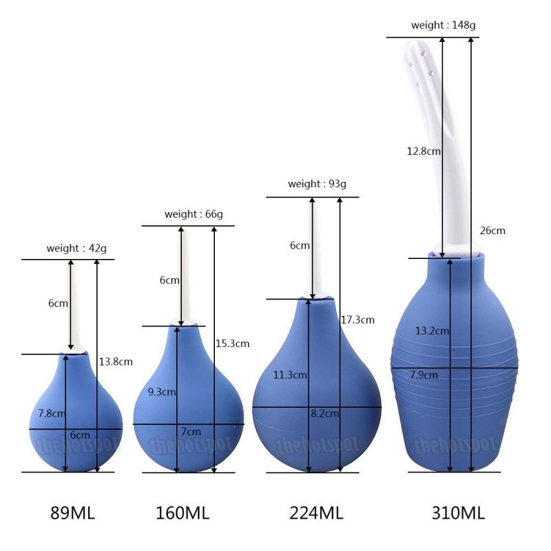 Enema Colonic Irrigation Anal Rinse - Blue