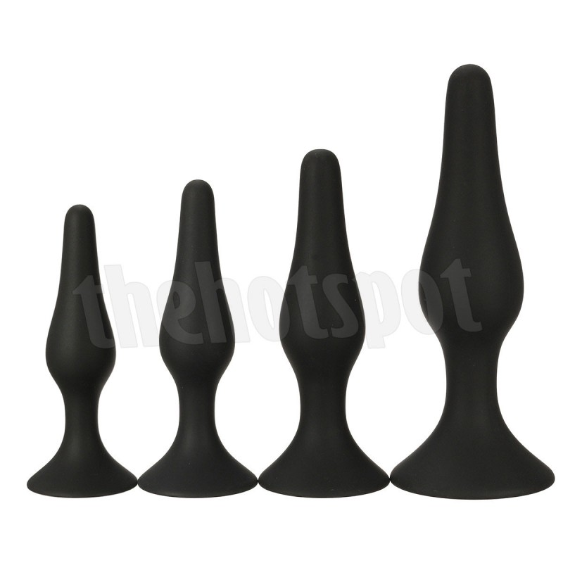 4 Piece Rocket Butt Plug Pack