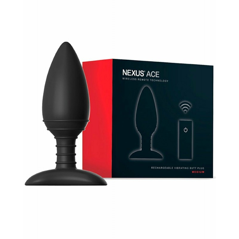 Nexus Ace Remote Control Vibrating Butt Plug - Medium