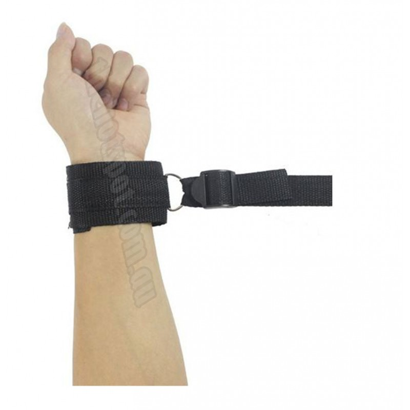 Under Mattress Bed Restraint Wrist Ankle Cuffs Bondage