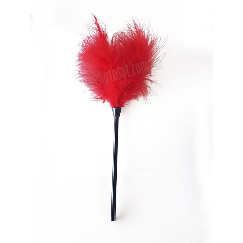 Slap 'N Tickle  Red Leather Love Kit 14 PCS Bondage Kit