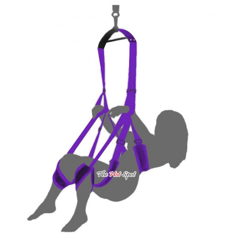 Roof Hanging Sex Swing with Bracket
