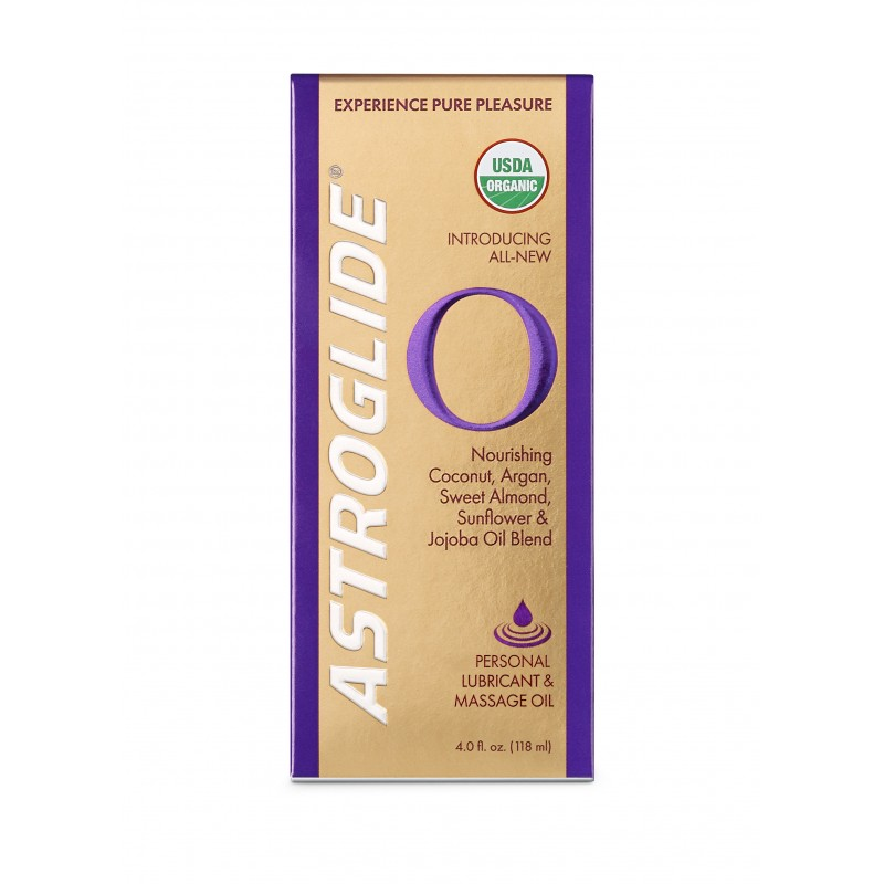 Astroglide O Certified Organic Personal Lubricant - 118ml Bottle