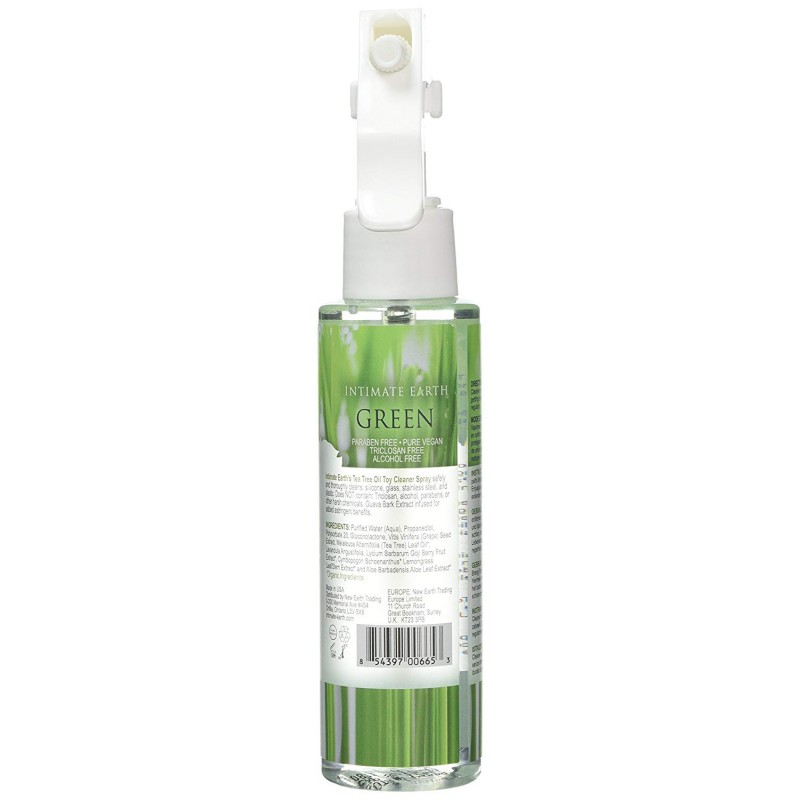 Intimate Earth Natural Organic Green Toy Cleaner Spray