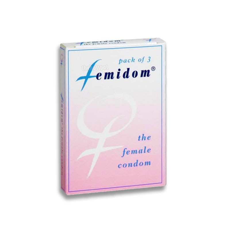 Femidom Female Condom - 3 Pack
