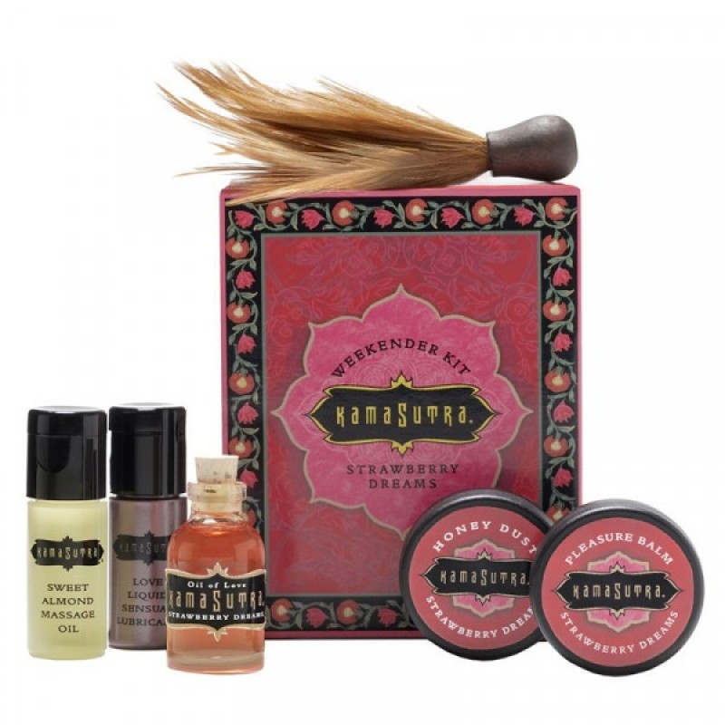 Kama Sutra Weekender Couple's Kit - Strawberry Dreams