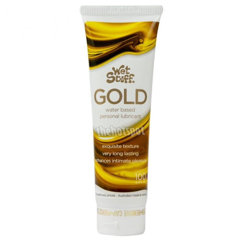 Wet Stuff Gold Lubricant - 100g Tube