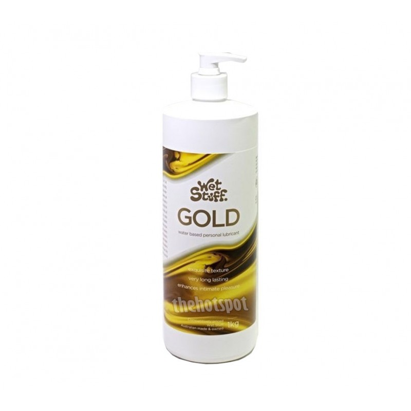 Wet Stuff Gold Lubricant - 1KG Pump