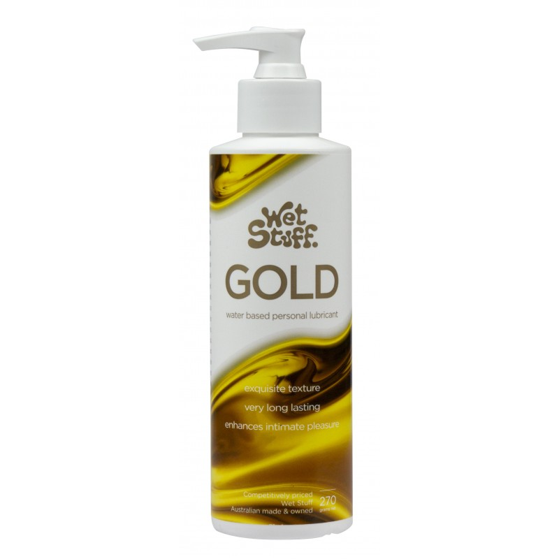 Wet Stuff Gold Lubricant - 270g Pump