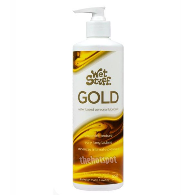Wet Stuff Gold Lubricant - 550g Pump