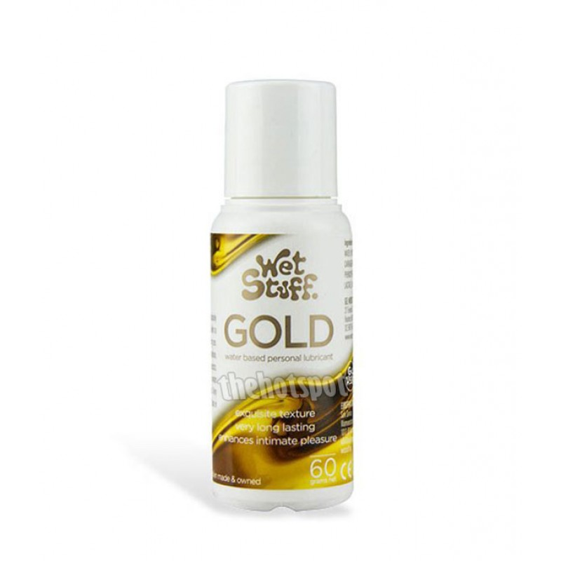Wet Stuff Gold Lubricant - 60g Bottle
