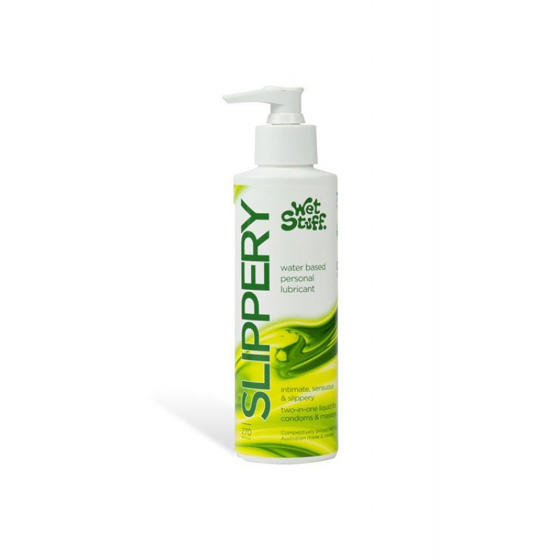 Wet Stuff Slippery Massage and Lubricant - 270g Bottle