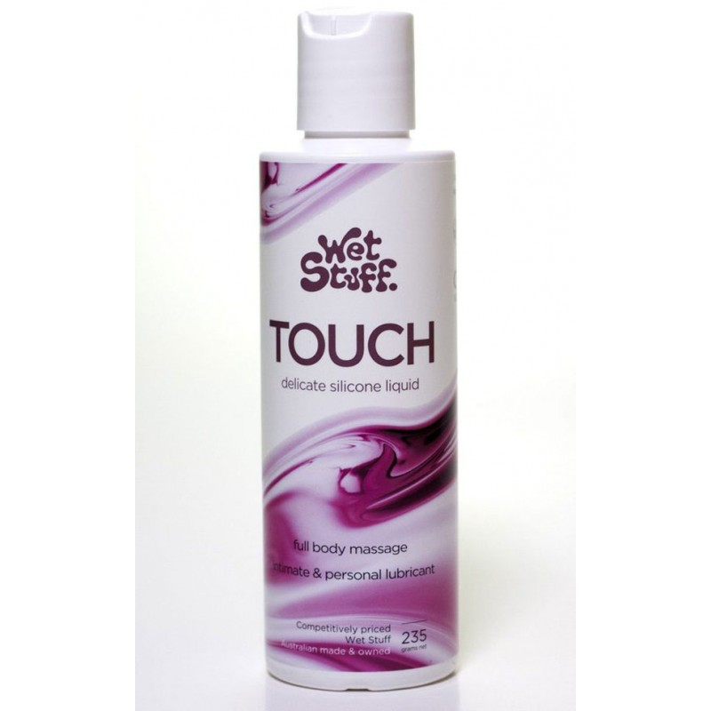 Wet Stuff Touch Massage and Lubricant - 235g Bottle