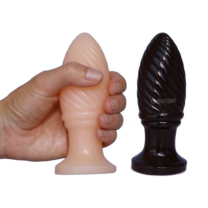 FAAK Twisted Spiral Butt Plug