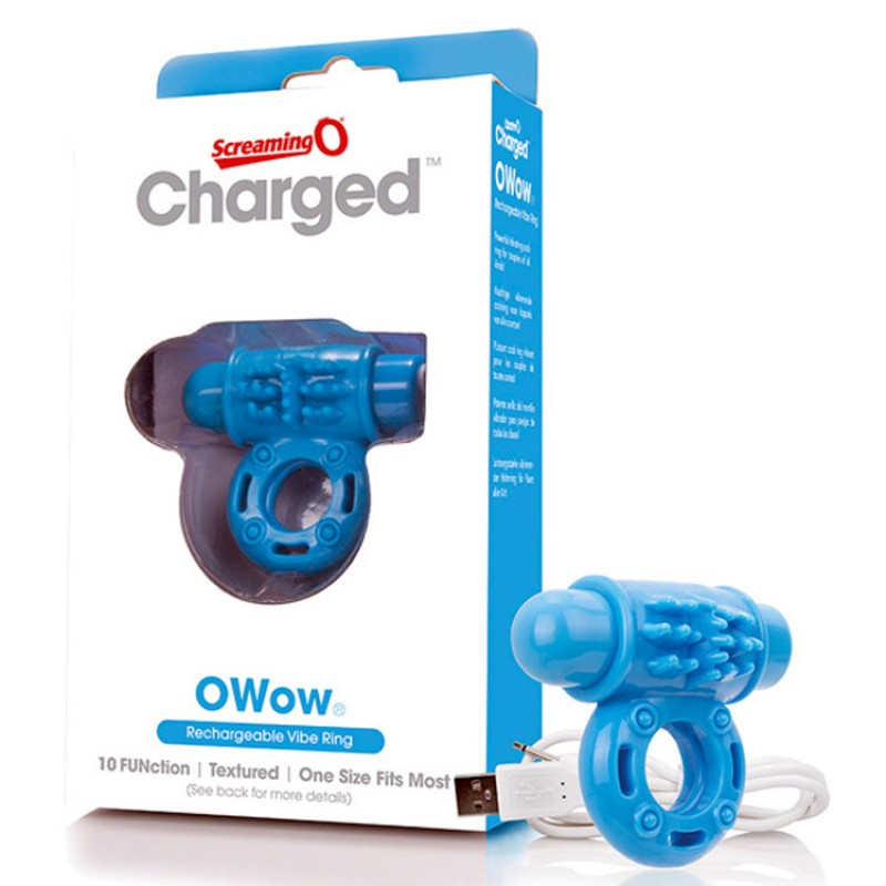 Charged O Wow Vooom Mini Vibe by Screaming O - Blue