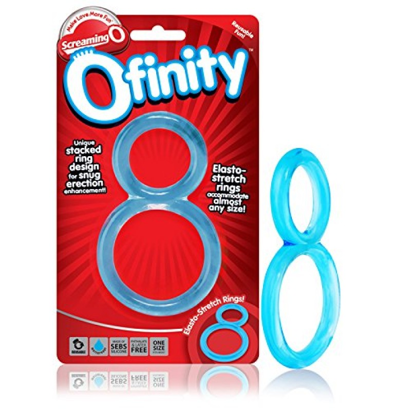 Screaming O Ofinity Blue Cock Ring