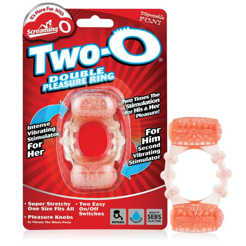 Screaming O Two-O Double Pleasure Vibrating Ring