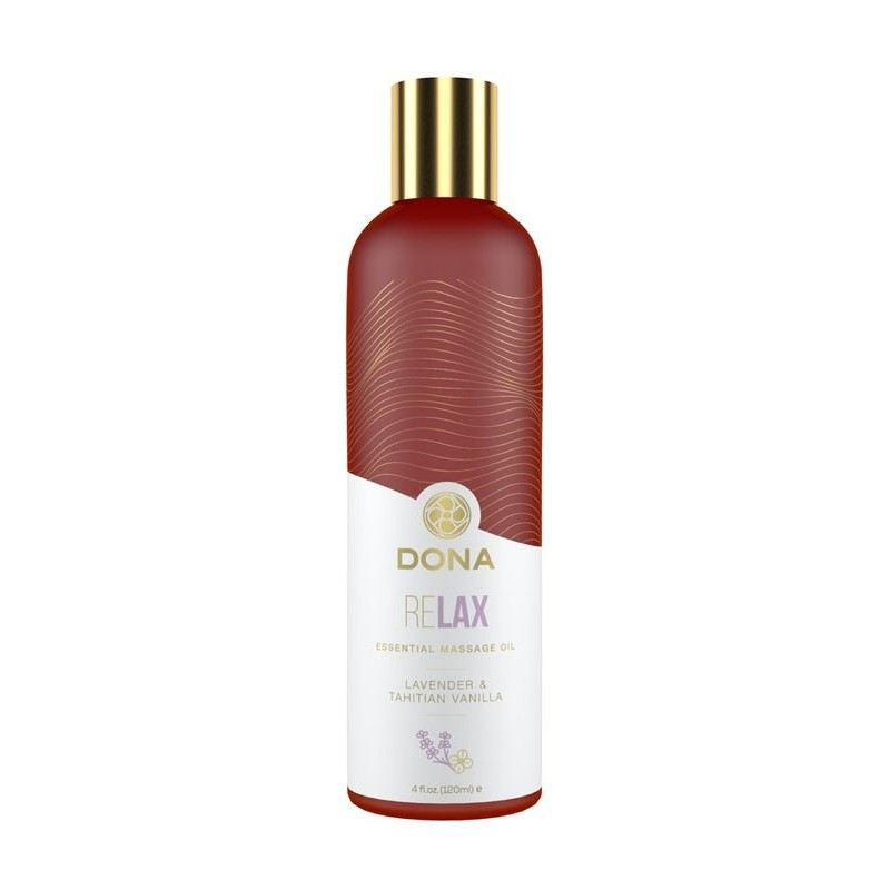 Dona Essential Massage Oils - ReLax - Lavender & Tahitian Vanilla 120ml