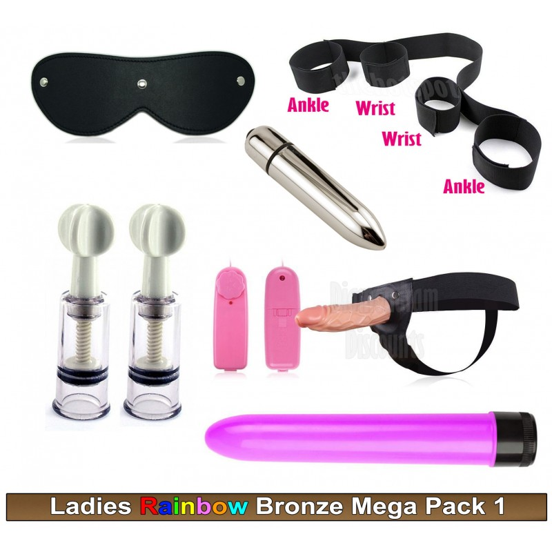 Gay Ladies Couples Bronze Pack 1 Sex Toy Mega Pack