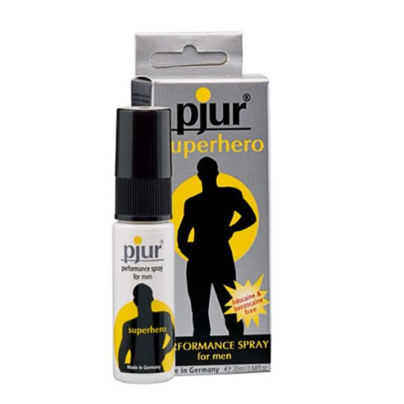 Pjur Superhero Performance Delay Spray 20ml