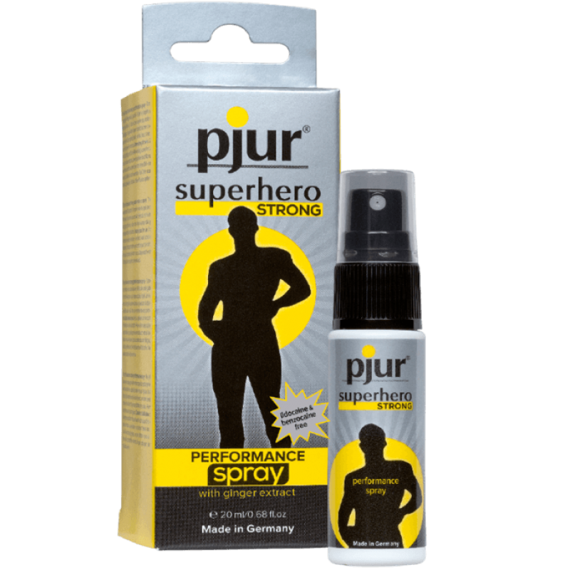 Pjur Superhero Strong Performance Delay Spray 20ml