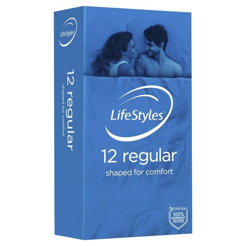 Ansell Lifestyles Regular Condoms 12 Pack