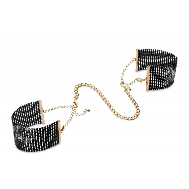 Bijoux Indiscrets Desir Metallique Handcuffs Black