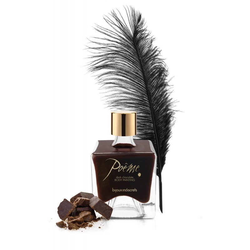 Bijoux Indiscrets Poeme Edible Body Paint Dark Chocolate