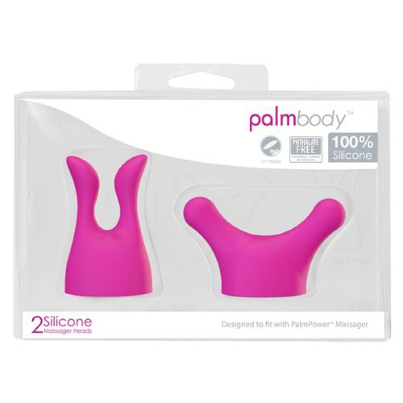 BMS Factory PalmPower PalmBody Silicone Massager Attachments