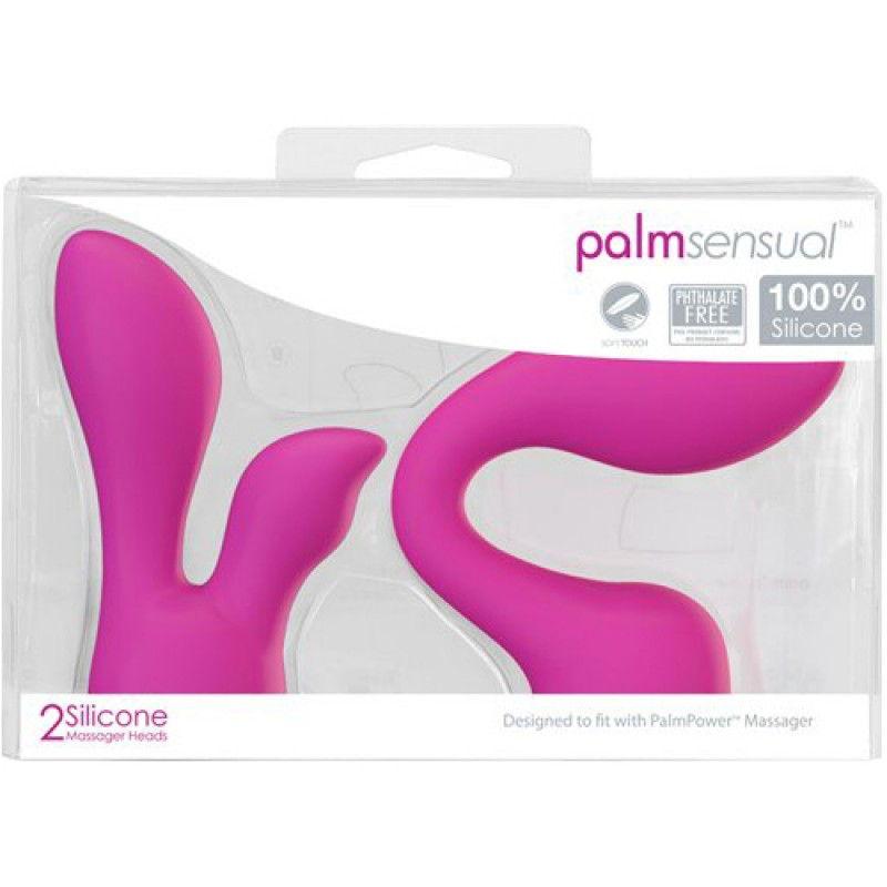 BMS Palm Sensual Head Attachments (For use with Palm Power)