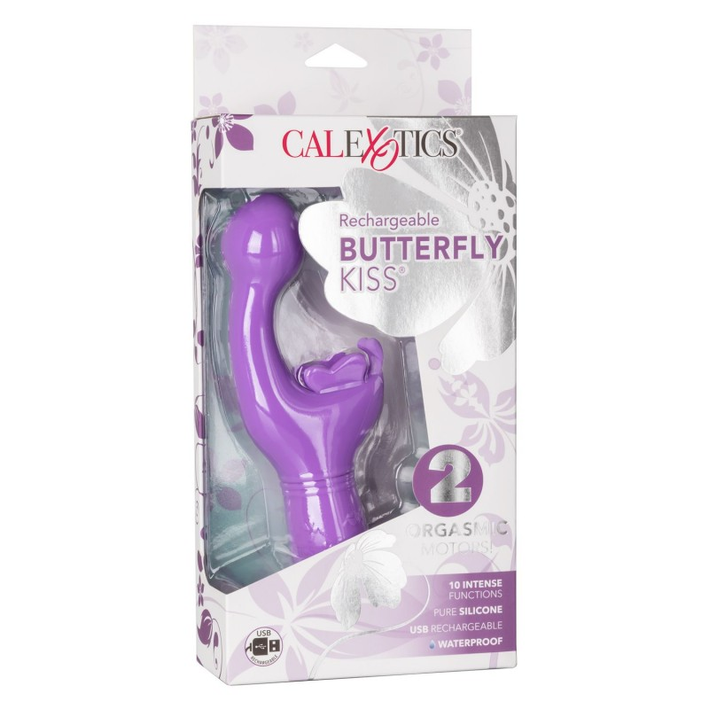 Rechargeable Butterfly Kiss - Purple