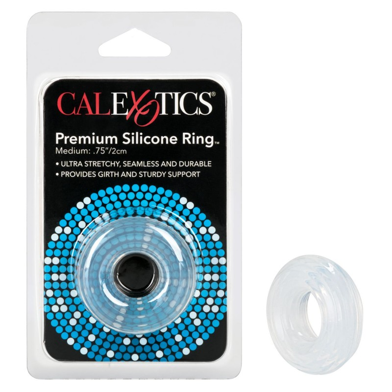 Premium Silicone Ring Clear - Medium