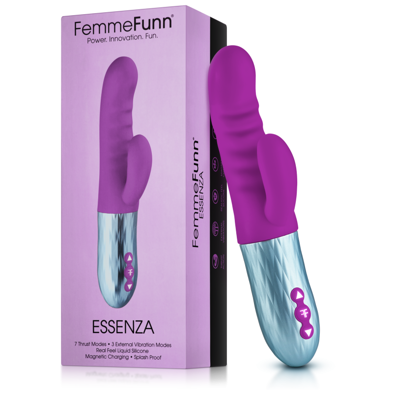 Femme Funn Essenza Rabbit Vibrator - Purple