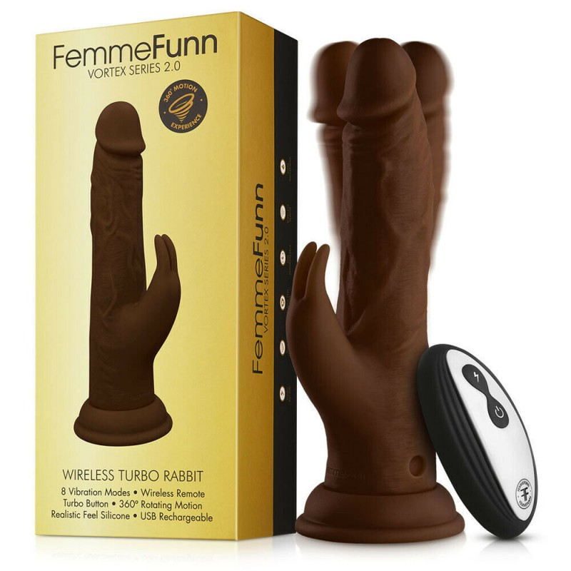 FemmeFunn Turbo Rabbit 2.0 - Brown