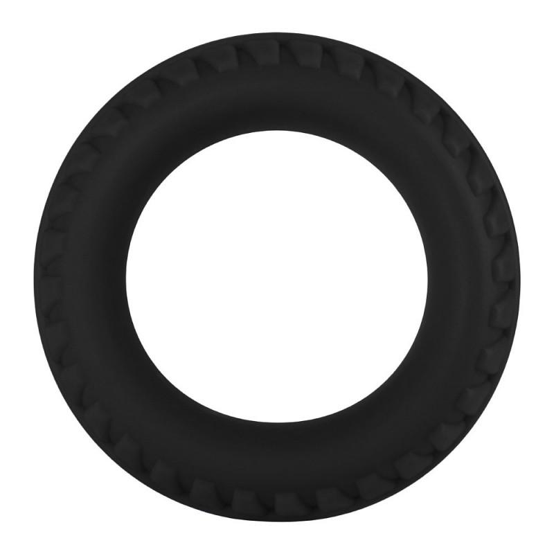 F-12: 35mm 100% Liquid Silicone C-Ring - Black