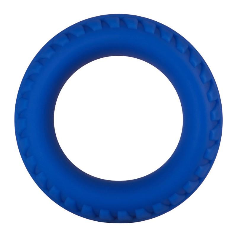 F-12: 35mm 100% Liquid Silicone C-Ring - Blue