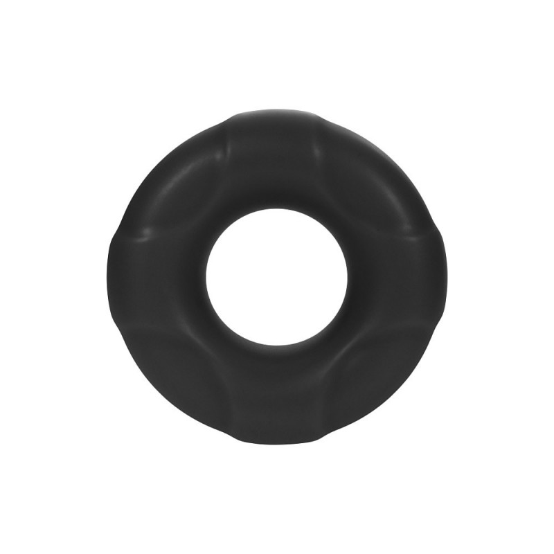F-33: 25mm 100% Liquid Silicone C-Ring Black - Small