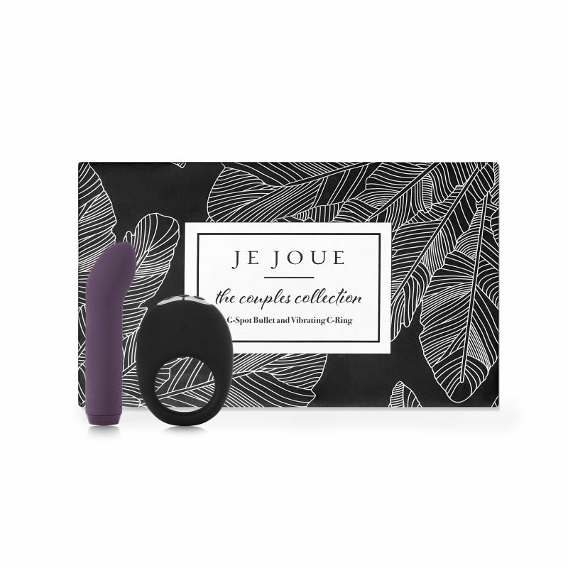 Je Joue Limited Edition The Couples Collection G-Spot Bullet & Vibrating C-Ring