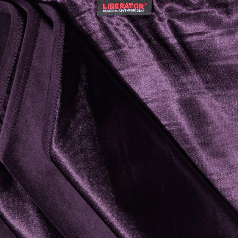 Liberator Decor Fascinator Throw Velvish Blanket - Aubergine
