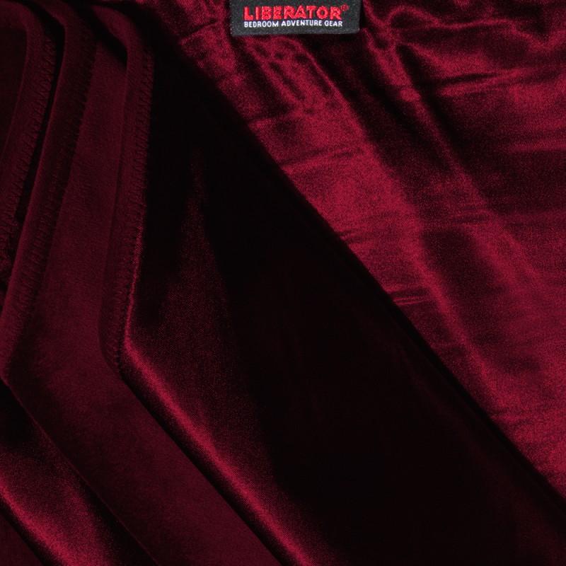 Liberator Decor Fascinator Throw Velvish Blanket - Merlot