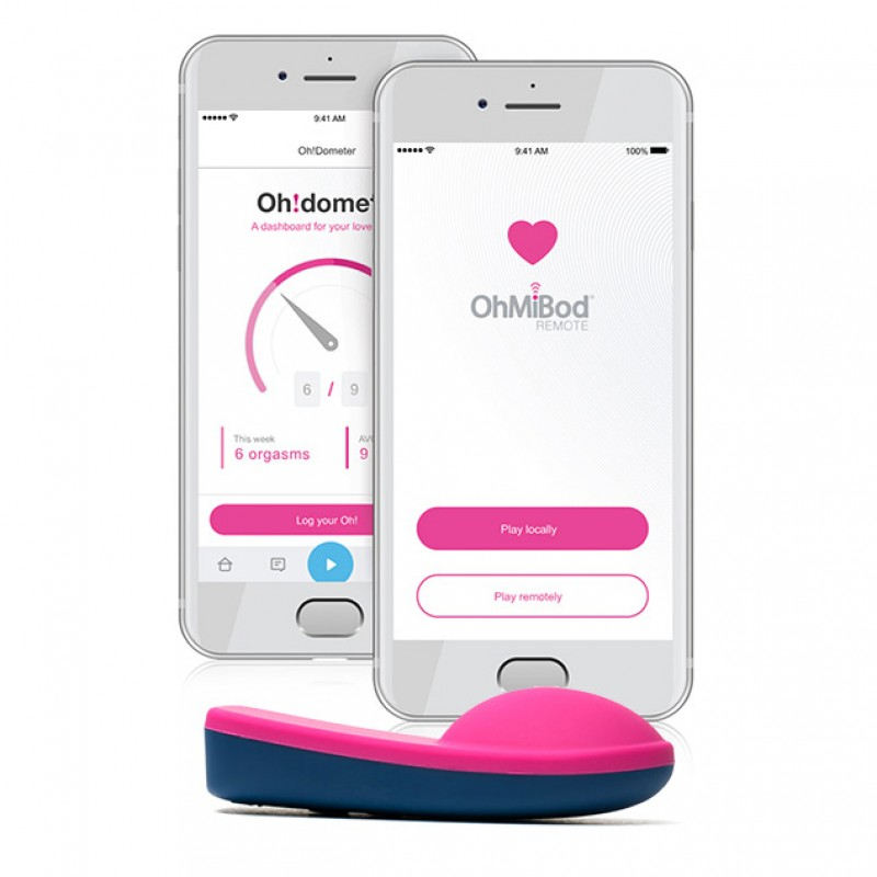 OhMiBod Bluemotion Nex 1 (2nd Generation) App-Controlled Wearable Vibrator