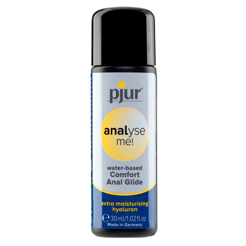 Pjur Analyse Me! Comfort Glide Water-Based Lubricant 30ml Bottle