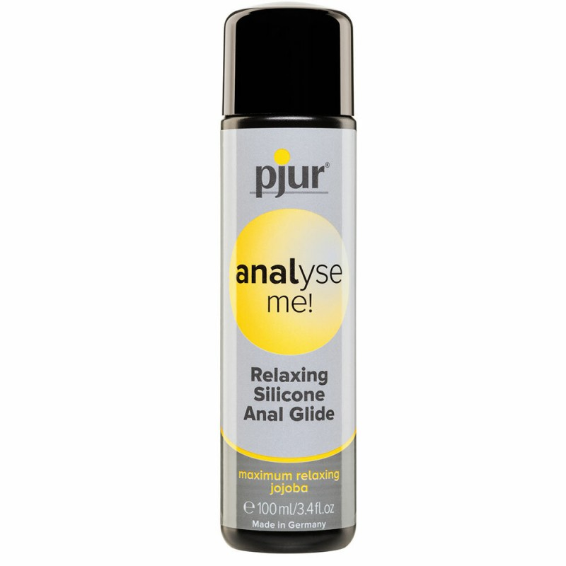 Pjur Analyse Me! Relaxing Anal Glide Silicone Lubricant 100ml Bottle