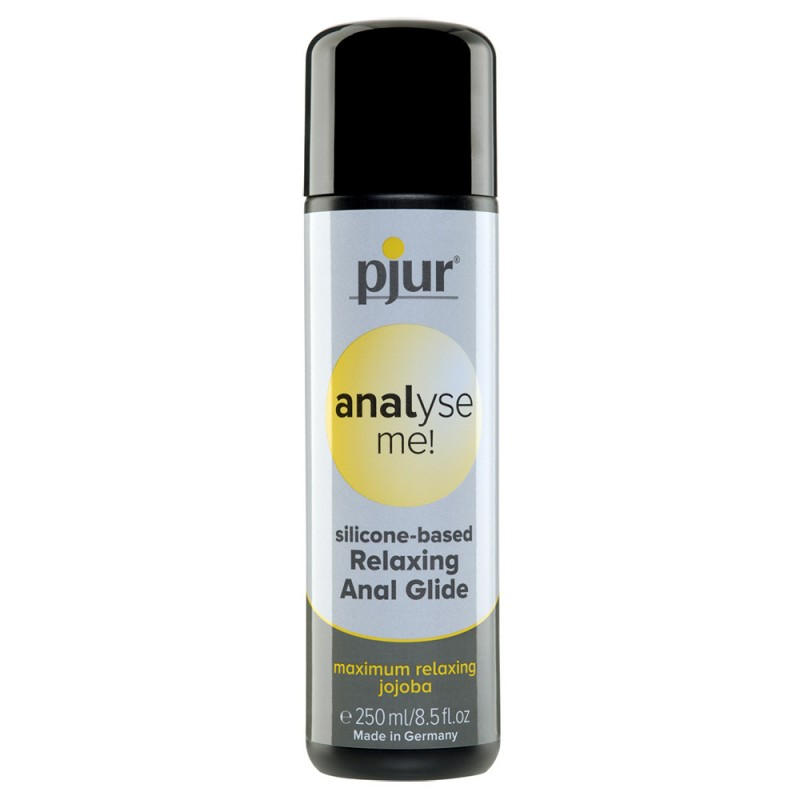 Pjur Analyse Me! Relaxing Anal Glide Silicone Lubricant 250ml Bottle