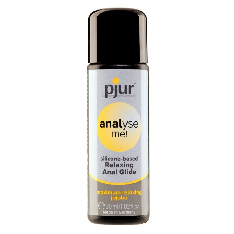 Pjur Analyse Me! Relaxing Anal Glide Silicone Lubricant 30ml Bottle