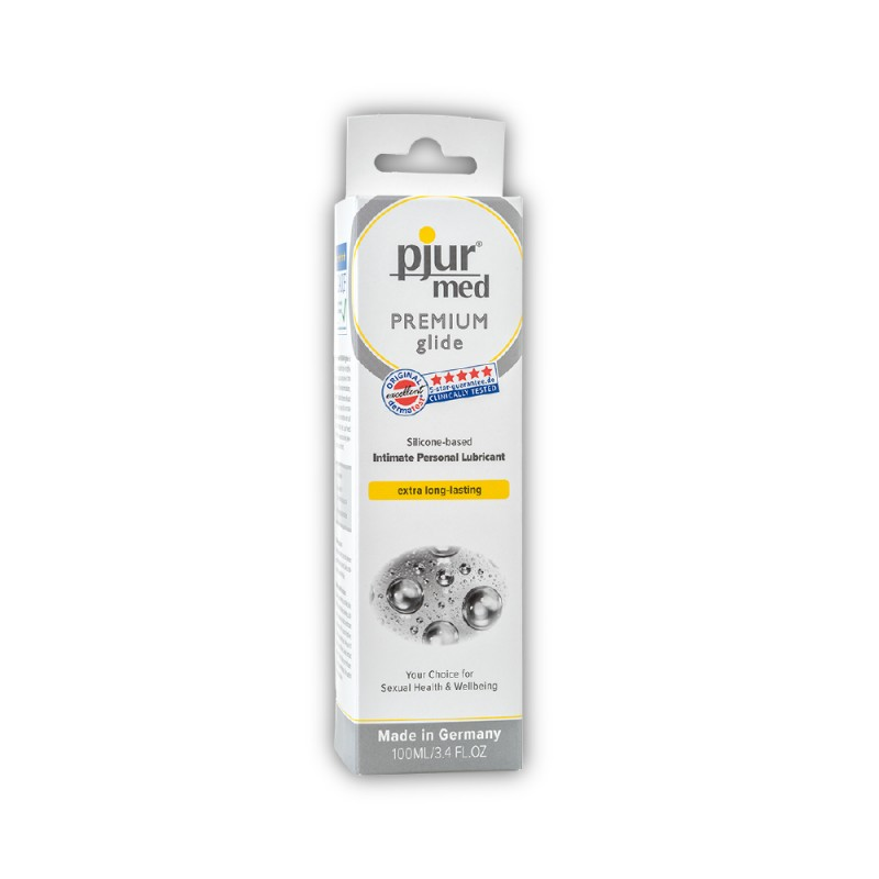 Pjur Med Premium Glide Silicone-Based Intimate Personal Lubricant 100 ml