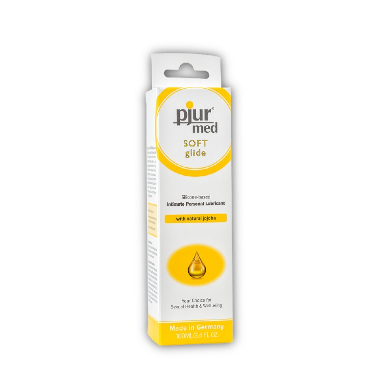 Pjur Med Soft Glide Silicone-Based Intimate Personal Lubricant 100 ml