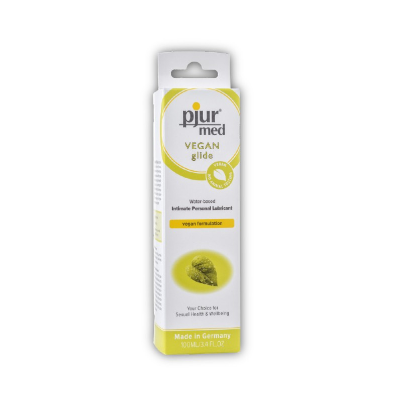 Pjur Med Vegan Glide Water-Based Intimate Personal Lubricant 100 ml