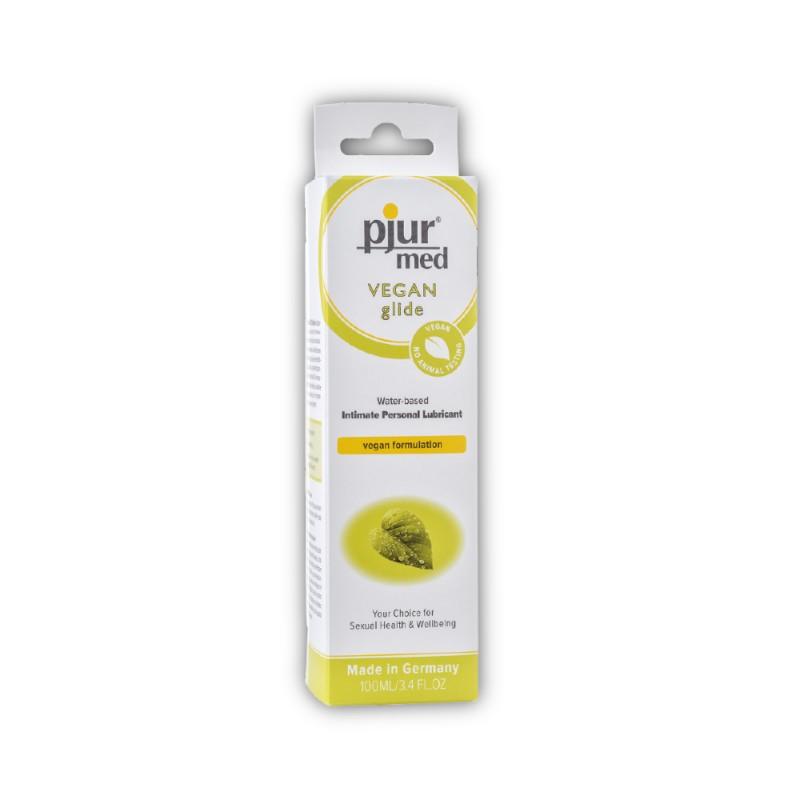 Pjur Med Vegan Glide Water-Based Intimate Personal Lubricant 100 ml